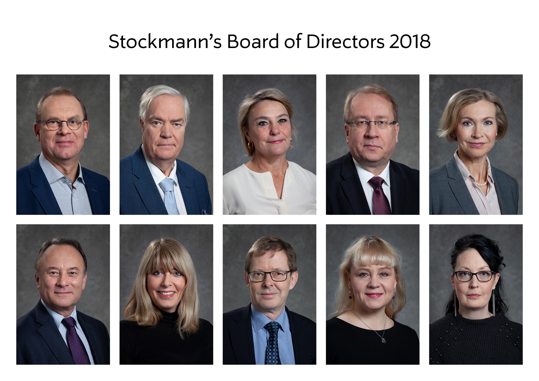 Stockmann's Board of Directors 2018.jpg